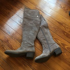 Vince Camuto over the knee boots size 9